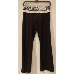 Lulu Lemon Black Yoga Pants Size 10